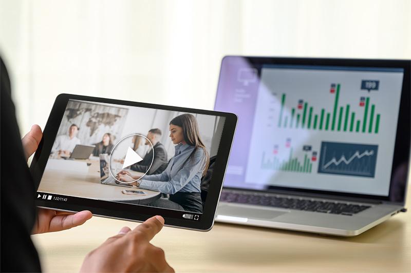 Video-tablet-statistiken